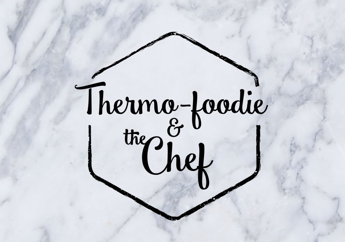 Thermo Foodie and the chef logo
