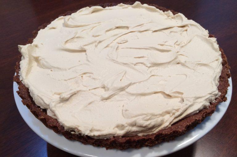 lchf banting low carb high fat thermomix thermofoodies ketokids ketochocolate hazelnut espresso mascarpone tart
